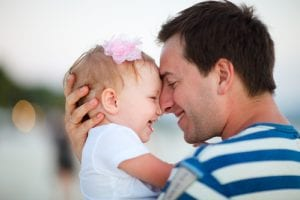 Child Custody with Father and daughter